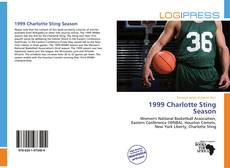 Bookcover of 1999 Charlotte Sting Season