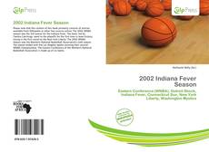 Обложка 2002 Indiana Fever Season