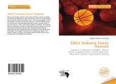 Обложка 2003 Indiana Fever Season