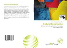 Bookcover of Cultural Suppression