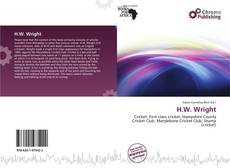 Bookcover of H.W. Wright