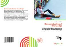 Portada del libro de Democratization of Knowledge