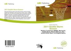 Bookcover of 2011 Seattle Storm Season