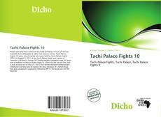 Capa do livro de Tachi Palace Fights 10