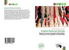 Couverture de English National Identity