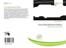 Buchcover von Corel WordPerfect Office
