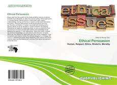 Bookcover of Ethical Persuasion