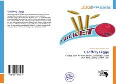Geoffrey Legge kitap kapağı