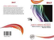 Bookcover of Joab in rabbinic literature