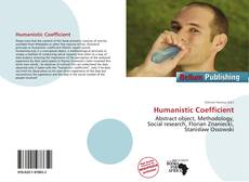 Bookcover of Humanistic Coefficient