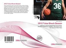 Capa do livro de 2012 Tulsa Shock Season