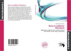 Bookcover of Ezra in rabbinic literature