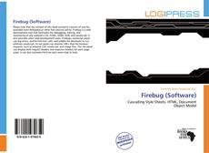 Bookcover of Firebug (Software)