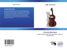 Buchcover von Colette Bonheur