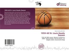 Bookcover of 1959–60 St. Louis Hawks Season