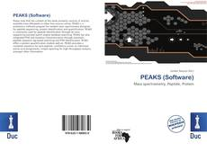 Bookcover of PEAKS (Software)