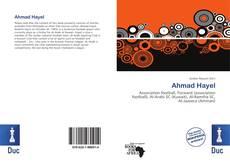 Ahmad Hayel的封面