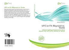 Обложка UFC on FX: Maynard vs. Guida