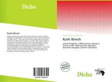 Bookcover of Ruth Winch