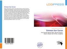 Обложка Simeon bar Ezron
