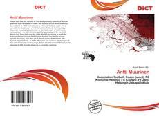 Buchcover von Antti Muurinen
