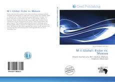 Borítókép a  M-1 Global: Fedor vs. Monson - hoz