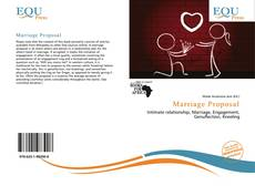 Bookcover of Marriage Proposal