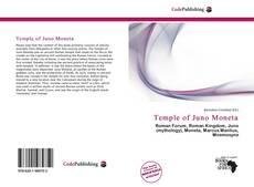 Capa do livro de Temple of Juno Moneta