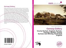 Bookcover of Cornsay Colliery