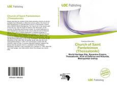 Bookcover of Church of Saint Panteleimon (Thessaloniki)