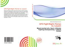 Bookcover of UFC Fight Night: Florian vs. Lauzon