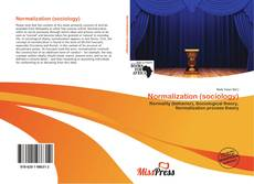 Bookcover of Normalization (sociology)