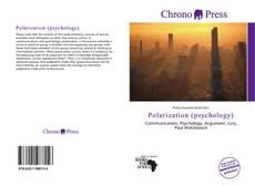 Capa do livro de Polarization (psychology)