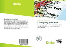 Bookcover of Cold Spring, New York