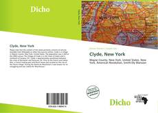 Bookcover of Clyde, New York