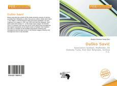 Bookcover of Duško Savić