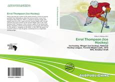 Обложка Errol Thompson (Ice Hockey)