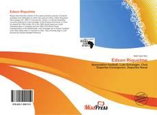 Capa do livro de Edson Riquelme