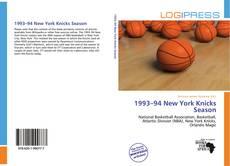 Portada del libro de 1993–94 New York Knicks Season