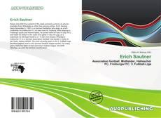 Buchcover von Erich Sautner