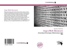 Bookcover of Argo (Web Browser)