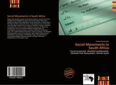 Social Movements in South Africa kitap kapağı