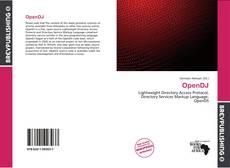 Portada del libro de OpenDJ