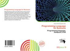 Capa do livro de Programming Language for Business