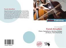 Couverture de Franck Amsallem