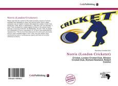 Capa do livro de Norris (London Cricketer)