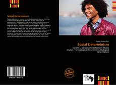 Buchcover von Social Determinism
