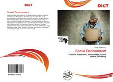 Bookcover of Social Environment