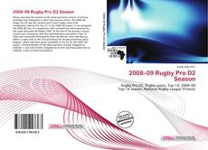 Bookcover of 2008–09 Rugby Pro D2 Season