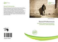 Bookcover of Social Preferences